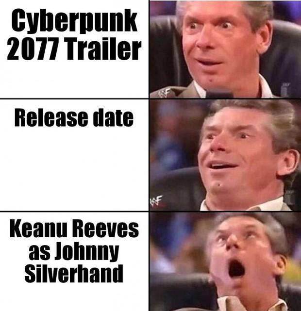 E3 Keanu be like