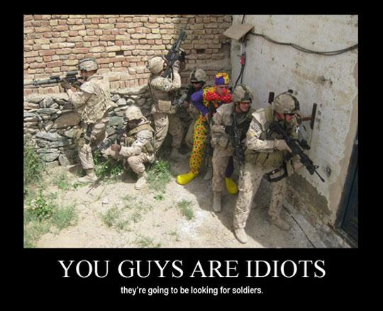 Silly soldiers