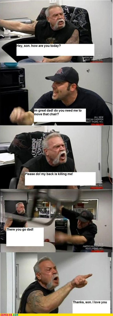 american chopper in a nutshell