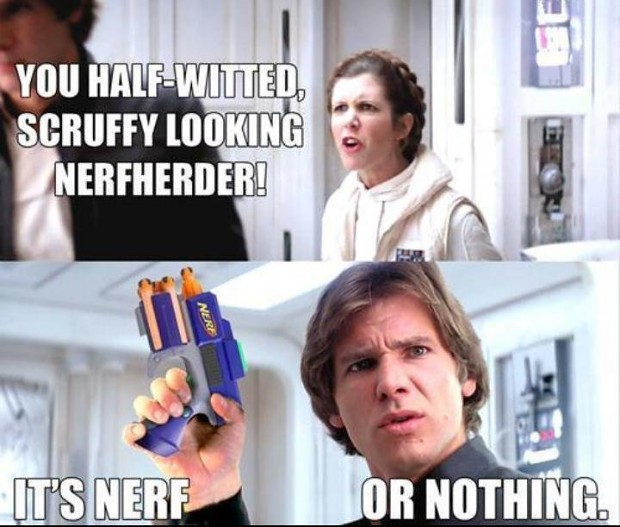 Nerf or nothing