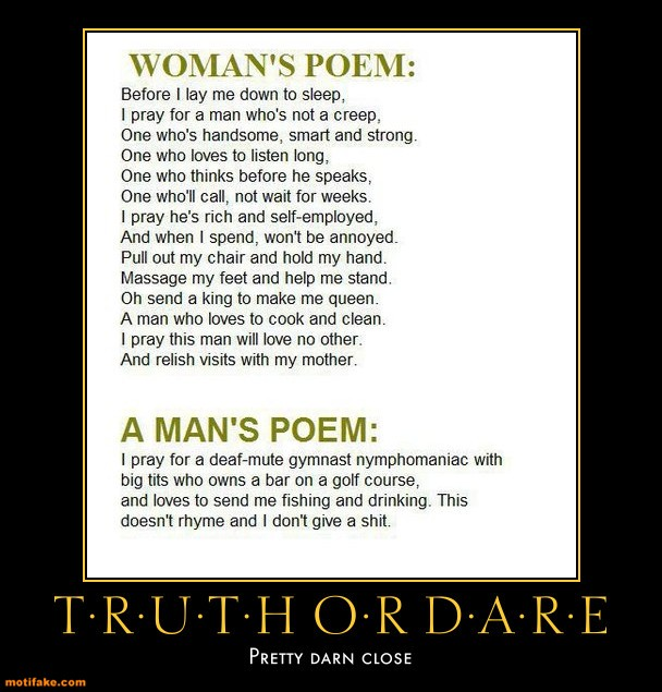 A Man and a Woman's Poem