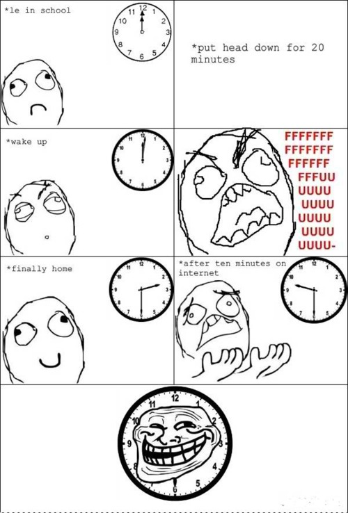 the troll clocks