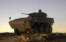 Patria AMV 8x8 with Denel LCT 30