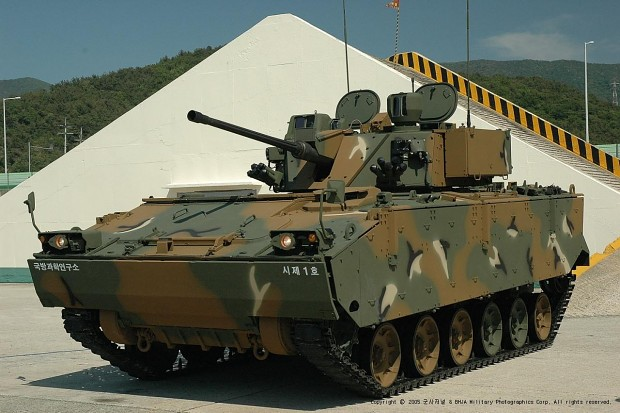 South Korean 'K-21' Next Infantry Fighting Vehicle
