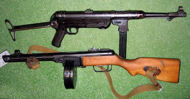 Ppsh 41 Vs Mp 40 Image Firearm Lovers Club Mod Db