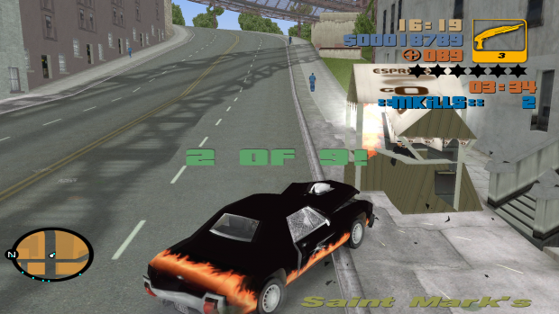 GTA III: Extended Gang War Screenshot 5