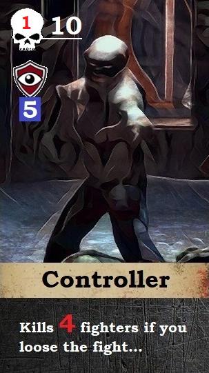 Threat Card: Controller