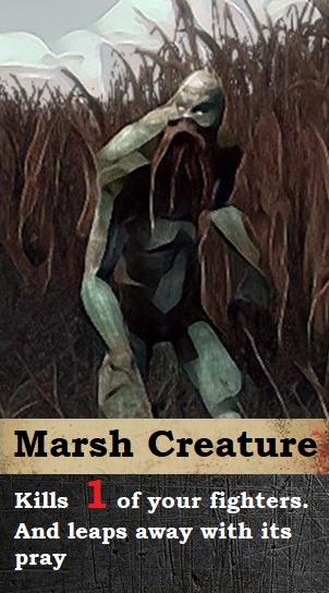 Threat Card: Marsh Creature