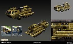 Westwood C&C 3 Mobile Defence Platform