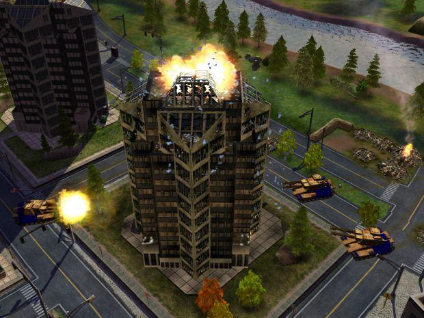 C&C Generals Alpha Build Screensshots