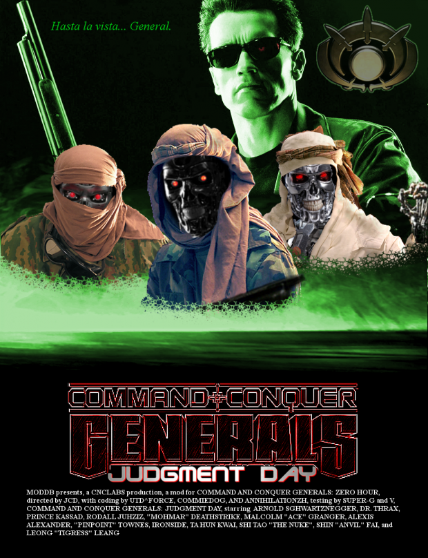 Generals: Judgment Day (GLA Poster)