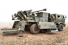 Sudanese khalifa 122-mm howitzer.