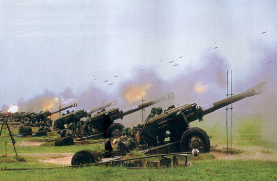 Free Energy Devices >> 155mm K114 field howitzer battery image - Artillery Lovers Group - Mod DB