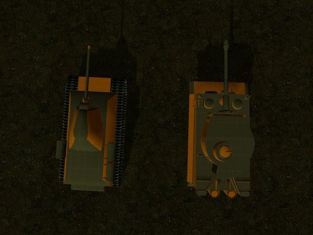 tiger - T34 comparison