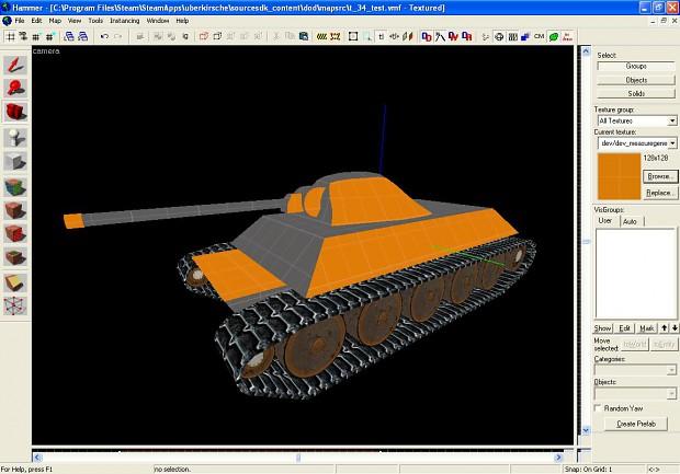T34 production shot