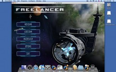 On Mac Os X Leopard via Crossover