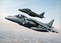 RAF Harriers