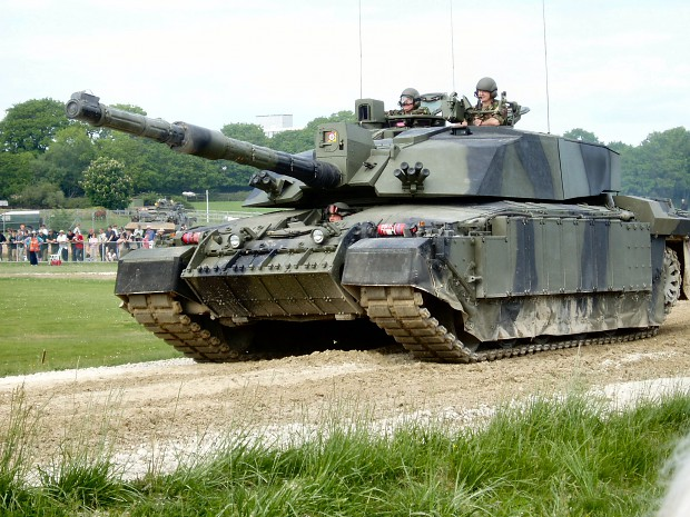 The Challenger 2 tank
