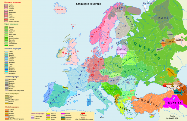 Languages in Europe 2.0