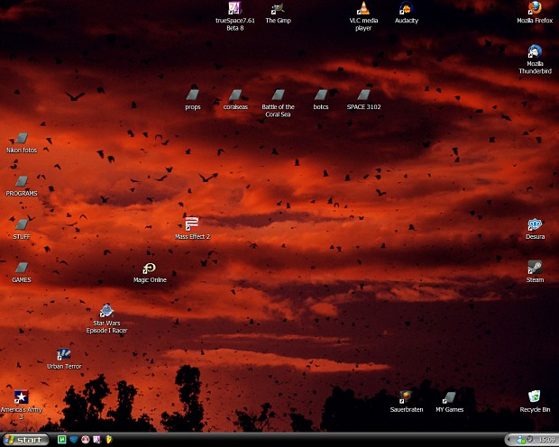 MY bat desktop