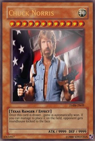 Chuck norris Game card image Mod DB