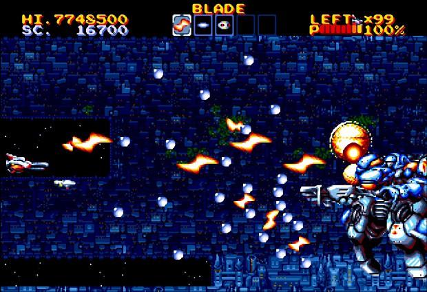 Thunder Force IV Ingameshot