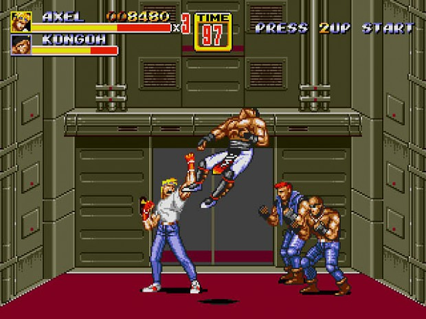 Streets of Rage 2/3