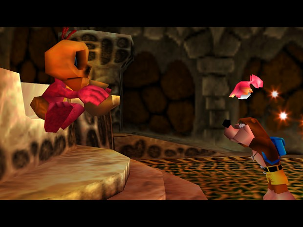 Banjo-tooie, Mumbo and Glowbo's