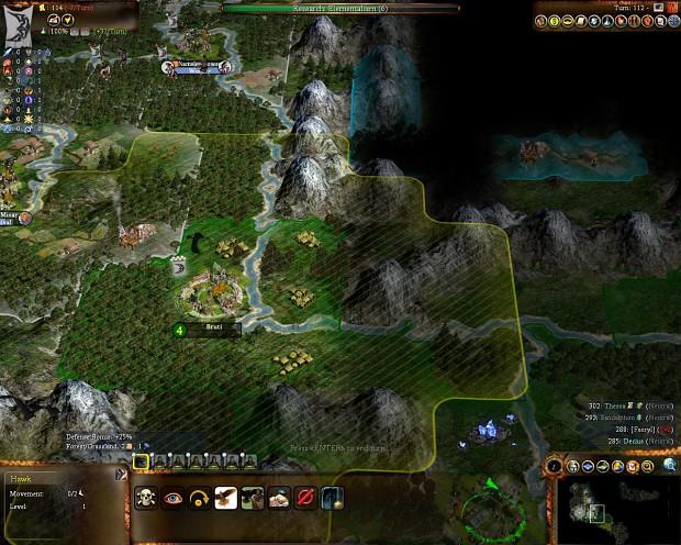 Hawk - a scout image - Civilization-like games fans