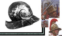 roman centurion decurion helmet references