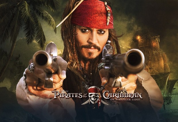 Johnny Depp is to earn 60 million pounds for POTC5