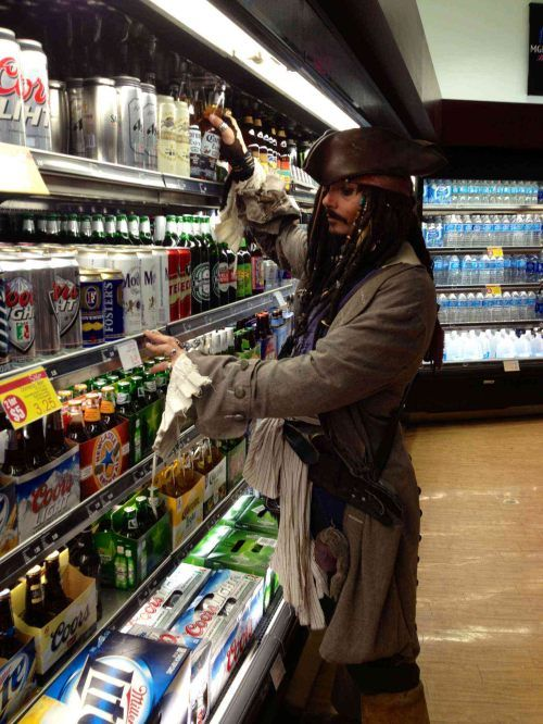 There's no rum!  I'm sure nobody will notice...