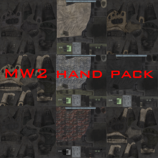 mw2 hand pack