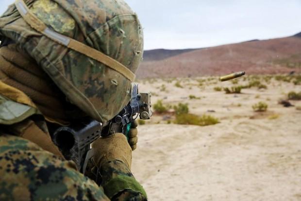 Marine w/M4