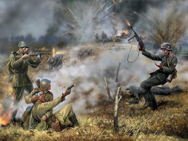 Men of war artworks