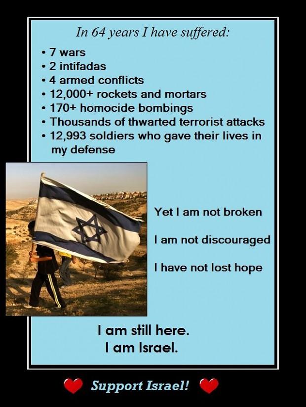 Long live Israel!
