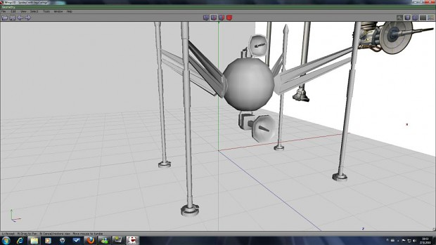 Spider droid WIP