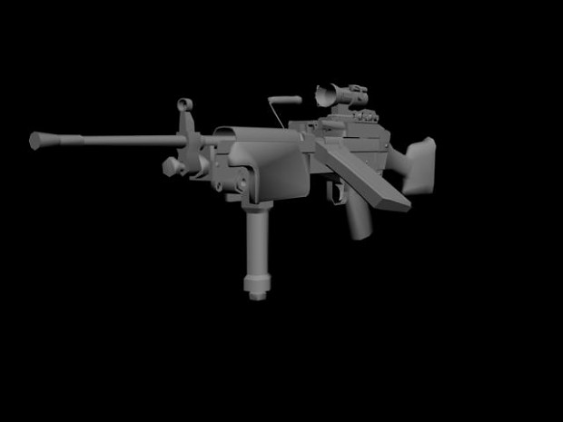 [WIP] M249 Mk46/Mk48/Mk2