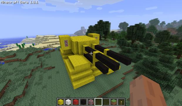 GDI Mammoth Tank in Minecraft image - Tiberium Essence Fans - Mod DB