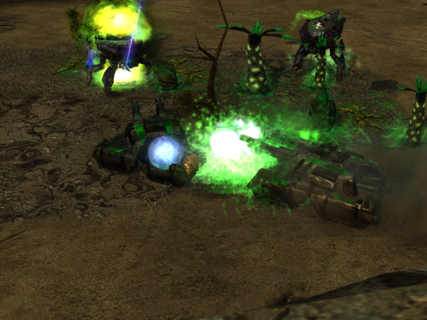 Tiberium Lifeforms not detected. Stupid scrin. :<