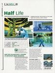 Progress of the game Half-Life