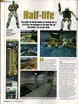 Progress of the game Half-Life