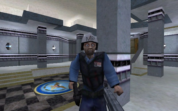 Half-Life Alpha Security Guard