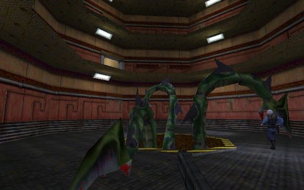 Half-Life Alpha Tentacles