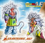 DBAFpic of SSJ5 Broly and Goku