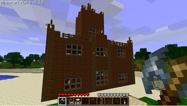 the making of my new house