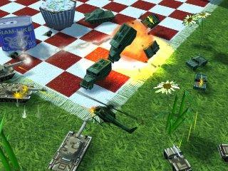 Army men air attack Refined graphics and models