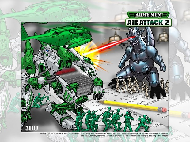 ARMY MEN AIR ATTACK 2 wallpaper