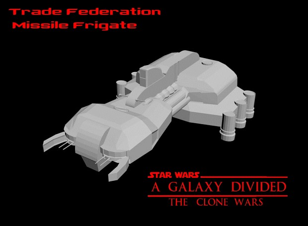 Trade Federation Missile Frigate