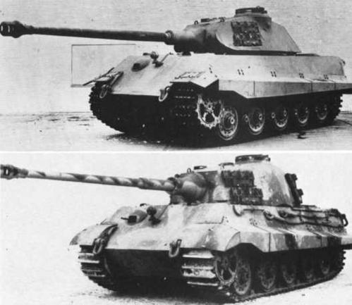 Tiger II Models